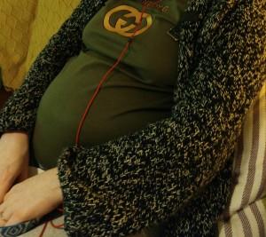 Big Baby Belly Bump social anxiety