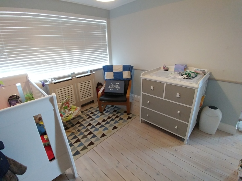 Nursery ready. Now your turn, baby!